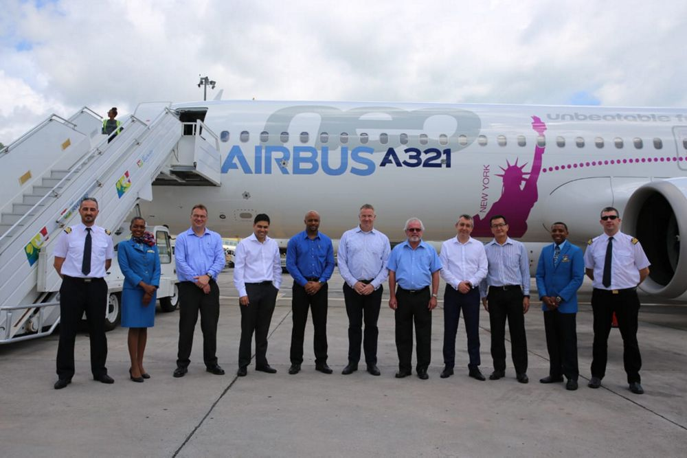 Airbus A321LR in Seychelles 2