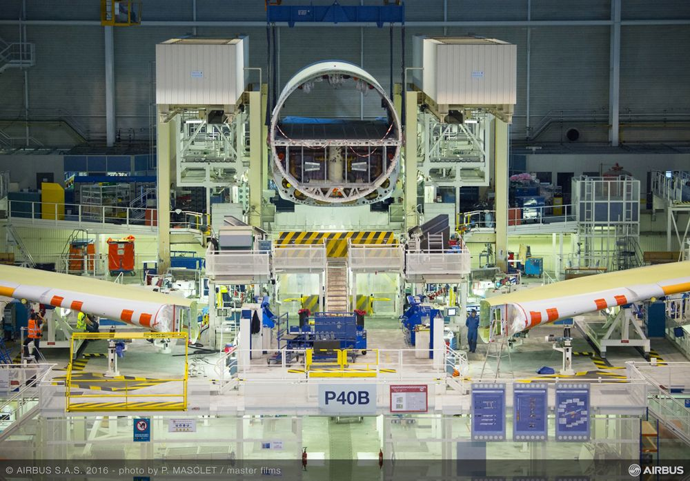 Start FAL A330neo