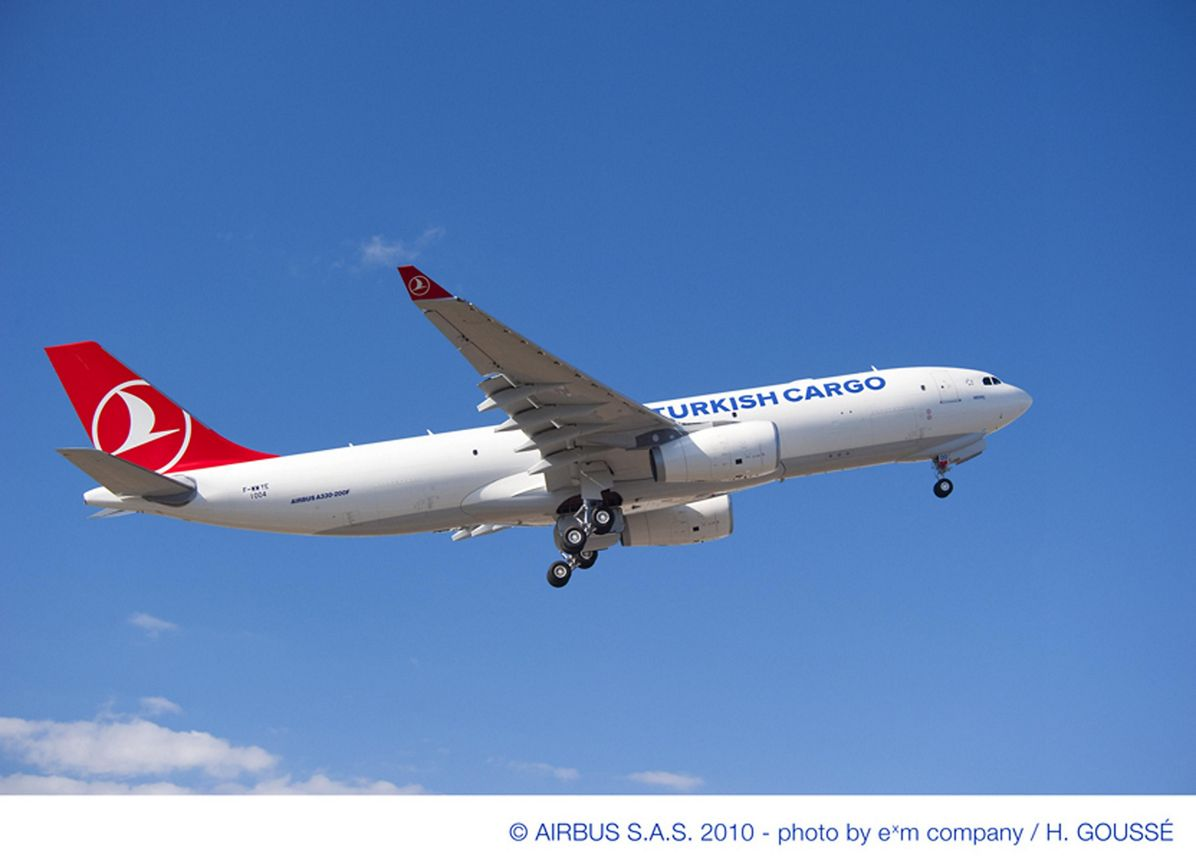 A330-200F Turkish Airlines  firm order