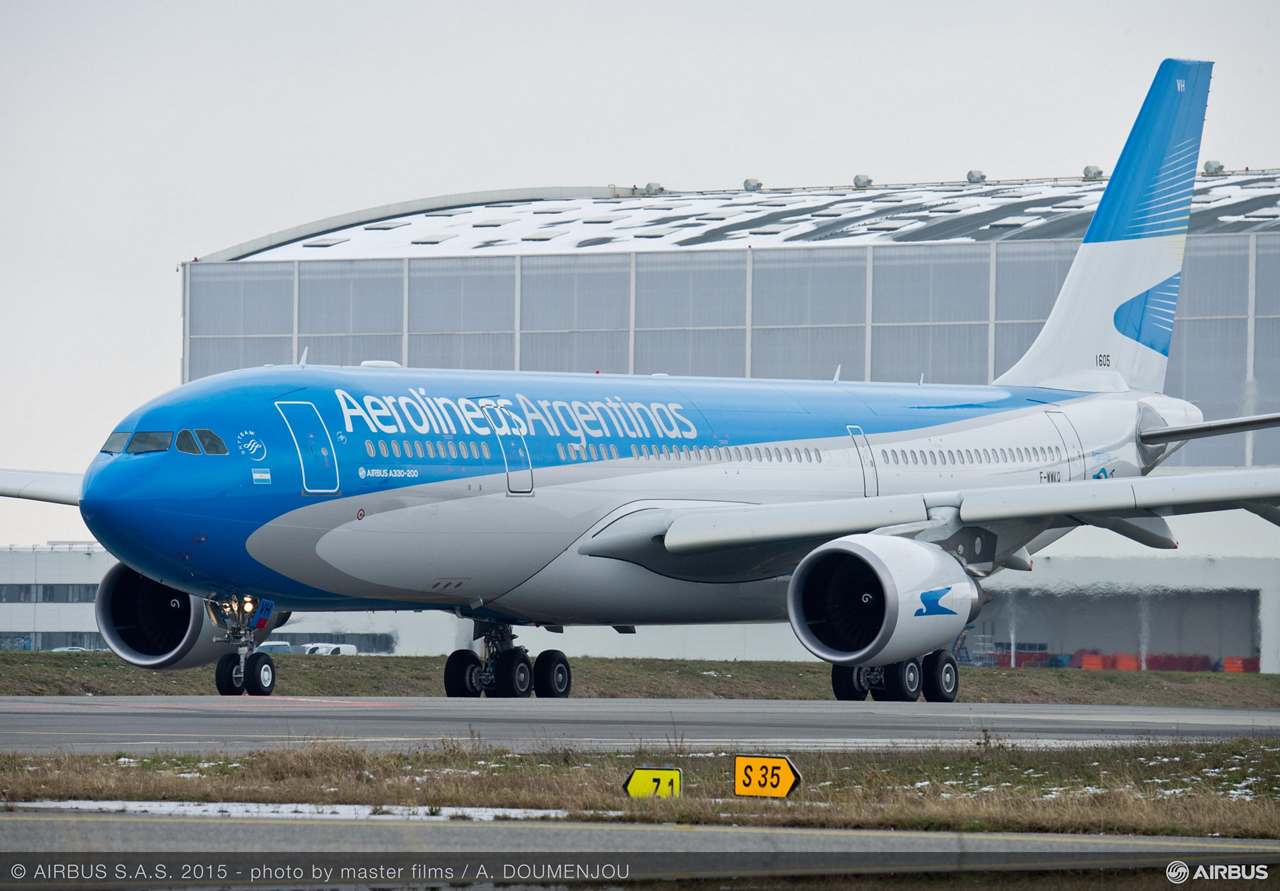 Aerolineas Argentinas – Argentina's flagship carrier – has taken delivery of its first new, directly-purchased Airbus A330-200 aircraft, which is part of the airline's fleet renewal strategy