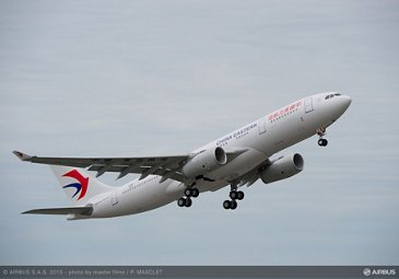 A330-200  China Eastern 50th delivery