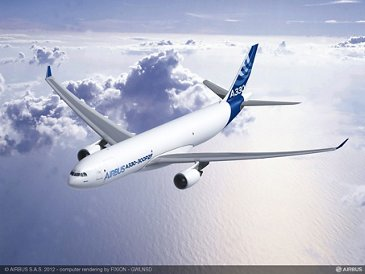A330-300P2F In Flight Rendering