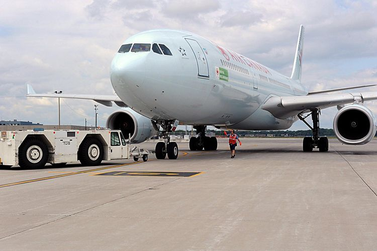 a330-200 Air Canada-sustainable aviation fuel