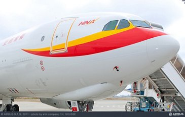 800th A330 delivered 鈥� an A330-200F for HNA Group