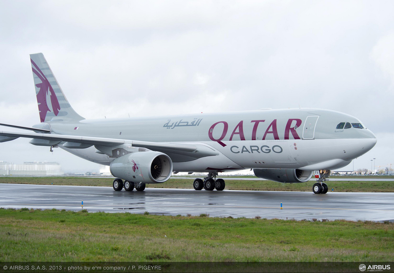 Qatar Airways first A330-200F cargo aircraft on lease from BOC Aviation – which was delivered in March 2013 – will be used on the operator's international freight network