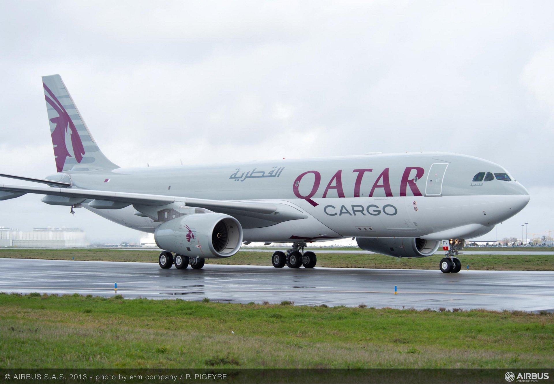 Qatar A330-200F cargo aircraft