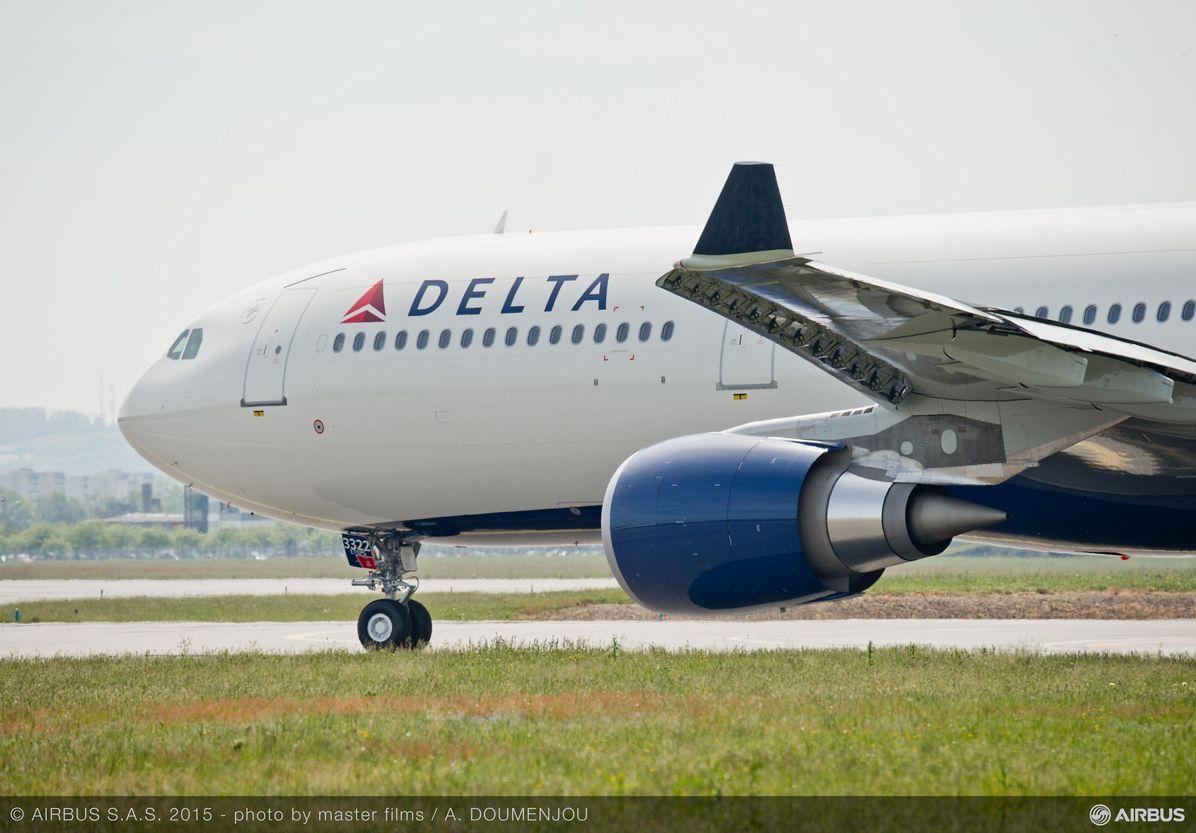 Delta Air Lines' 242-tonne A330-300_1