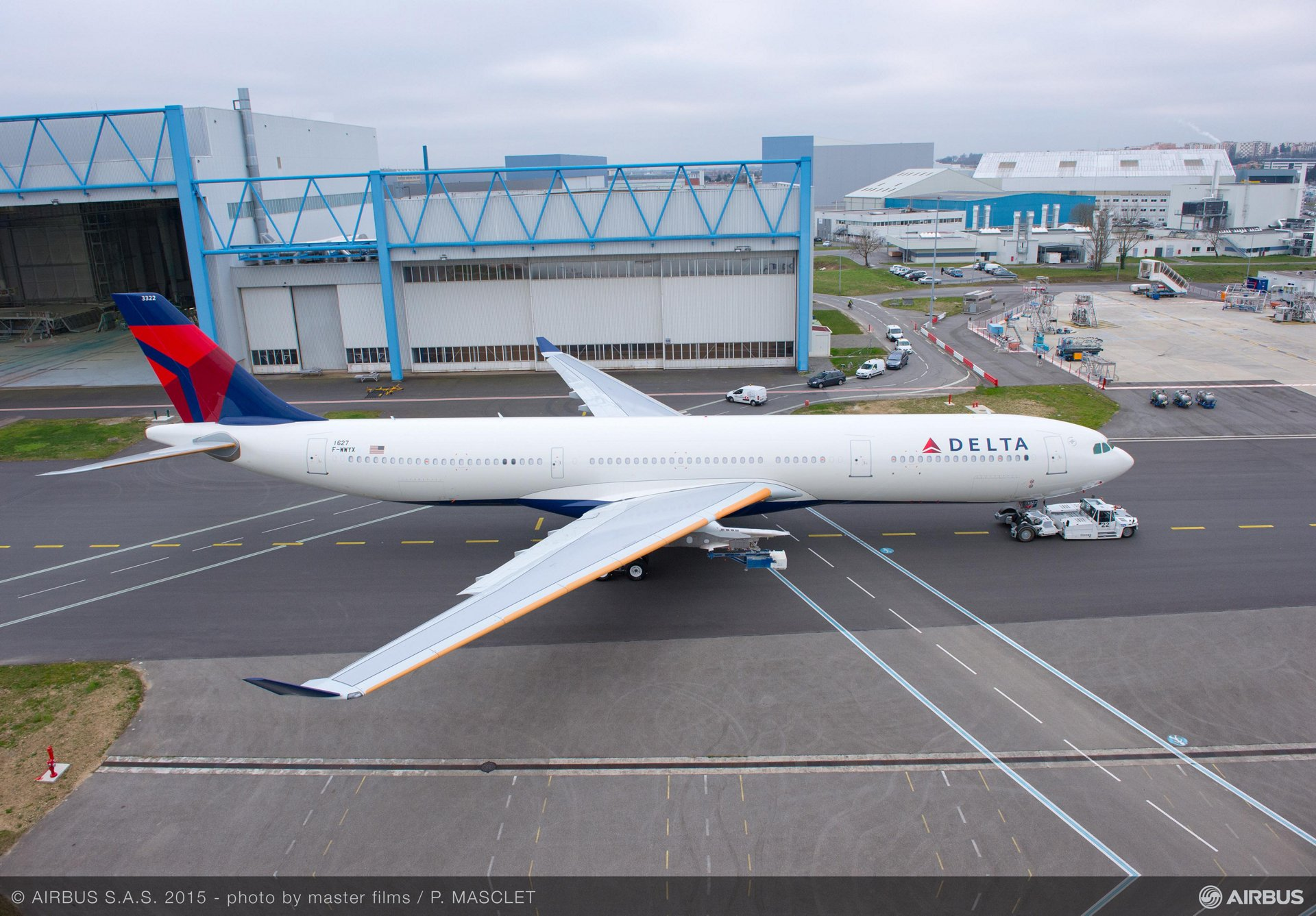 Rollout of Delta Air Lines' 242 tonne A330 variant_1
