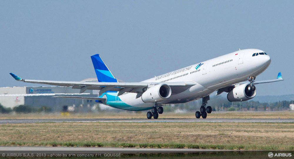 Garuda Indonesia starts taking delivery of new A330-300 fleet