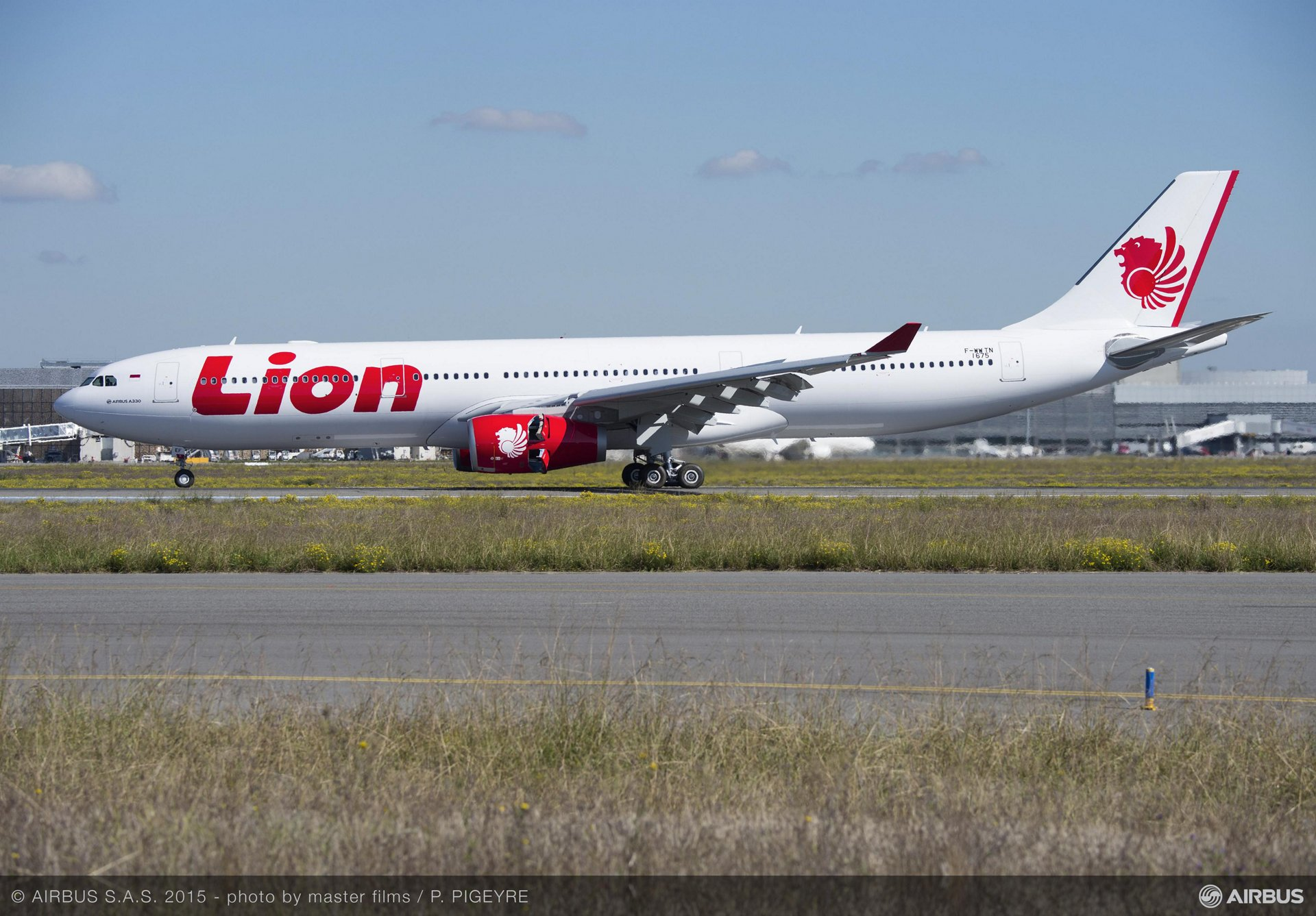 Lion air takes delivery of its first a330 300 a330 300lion air first delivery 2 stopboris Images