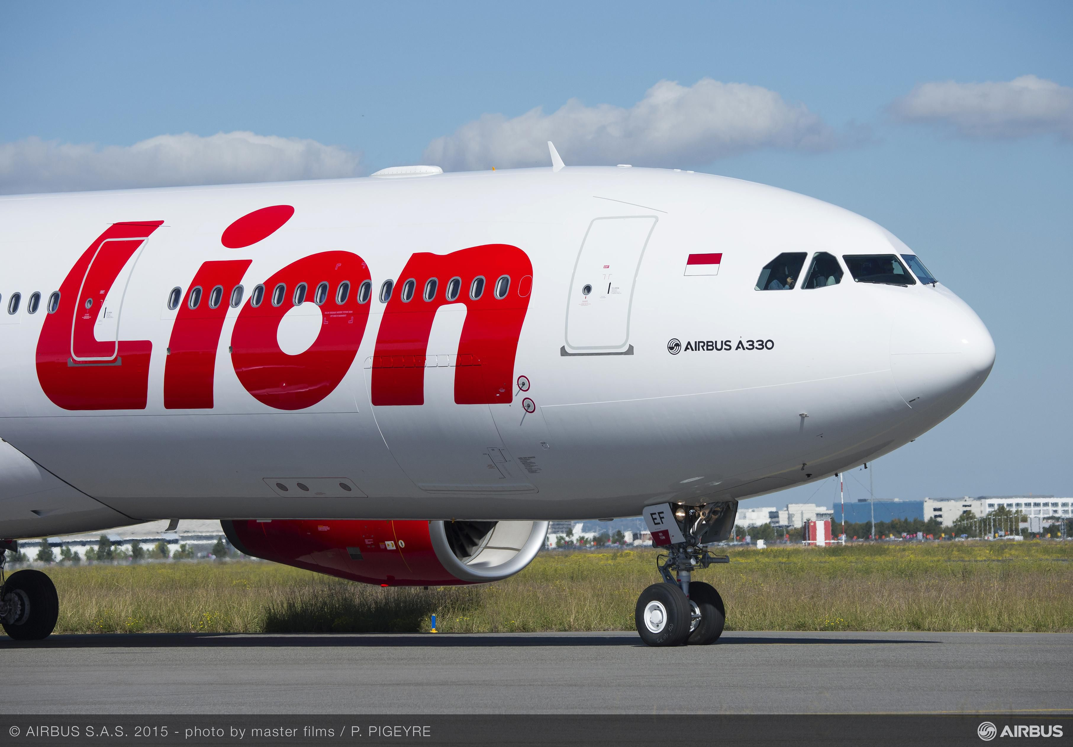 Lion air takes delivery of its first a330 300 high resolution stopboris Images