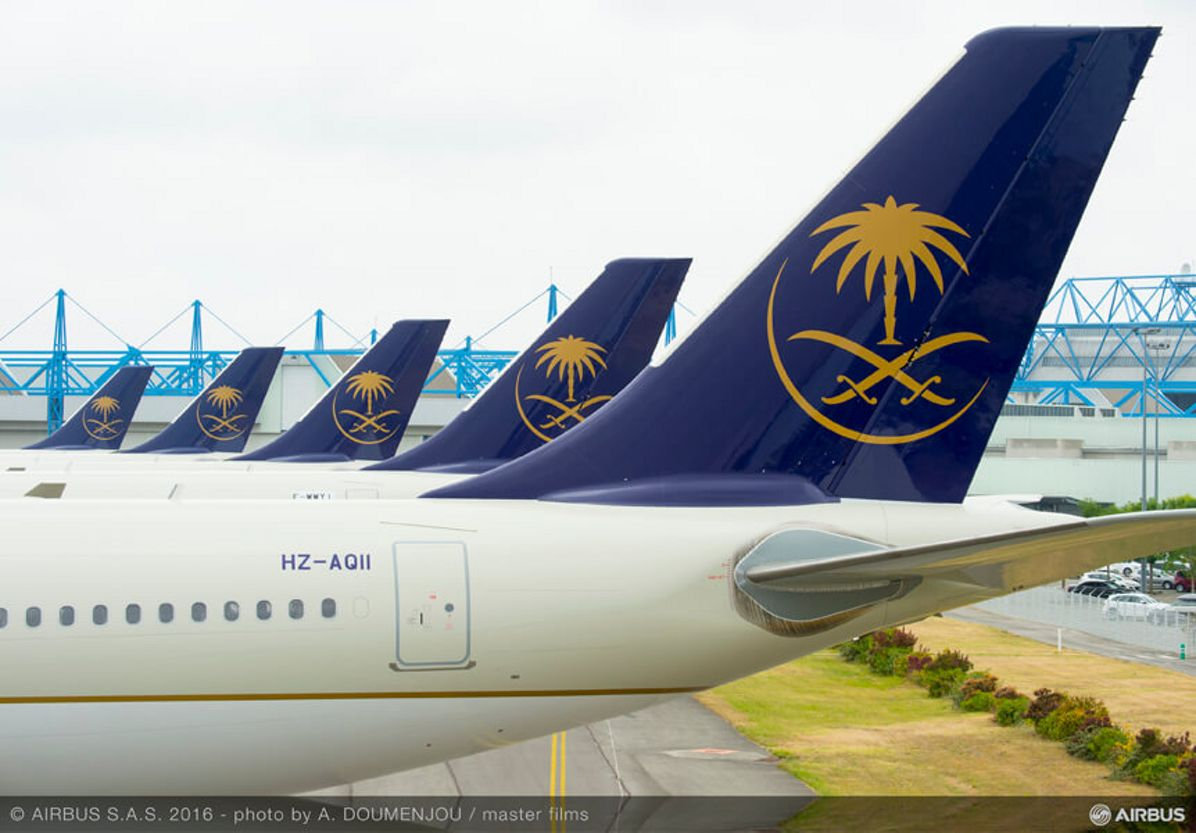 Airbus delivers world's first A330-300 Regional to Saudi Arabian Airlines