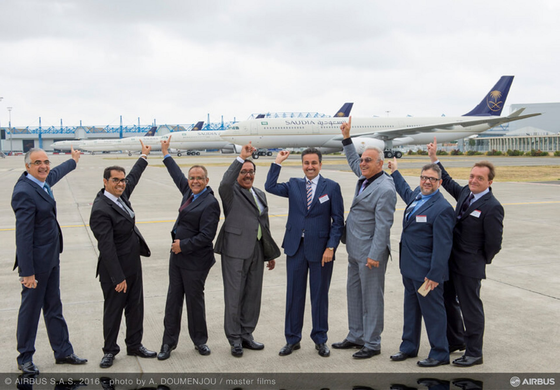 Saudi Arabian Airlines takes delivery of its first A330-300 Regional_2