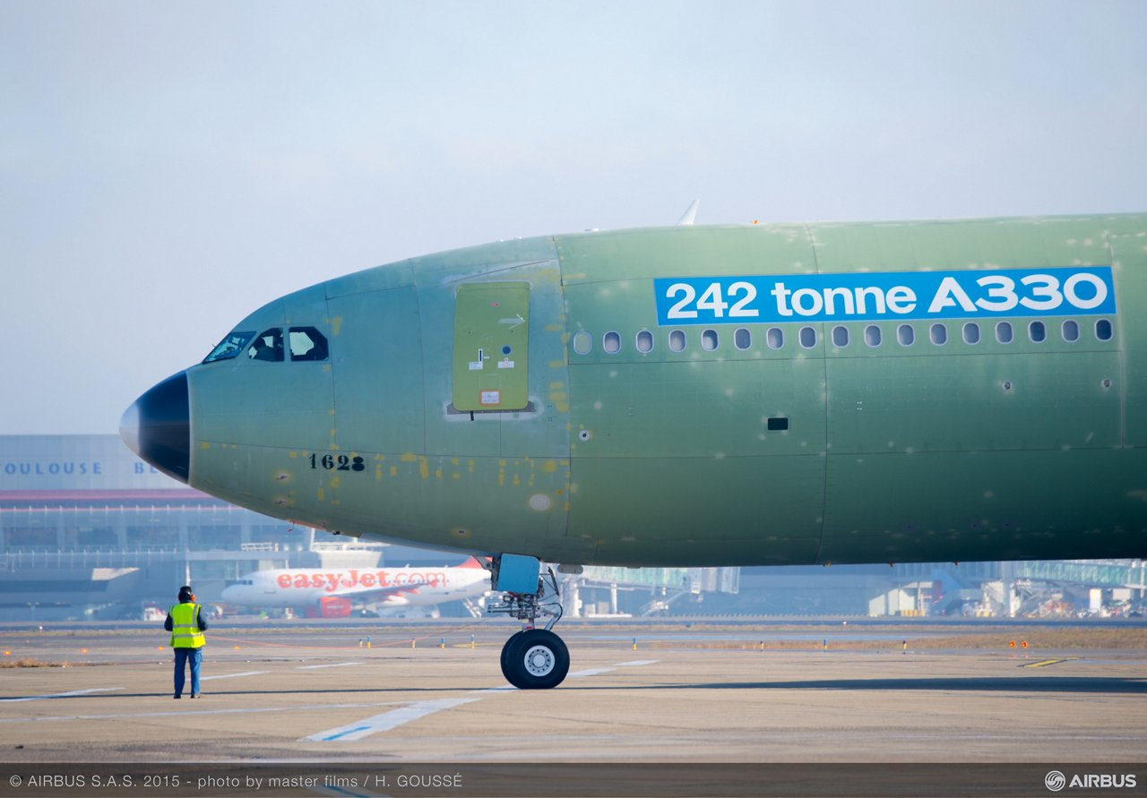 242-tonne maximum takeoff weight A330 before its first flight_1
