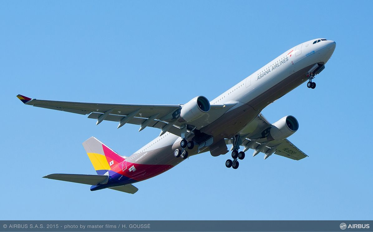Asiana Airlines FHS Components contract