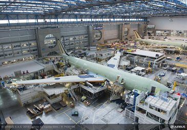 French Blue_First A330 takes shape 1