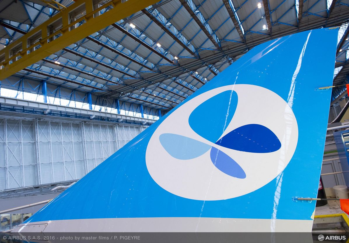 French Blue_First A330 takes shape 2