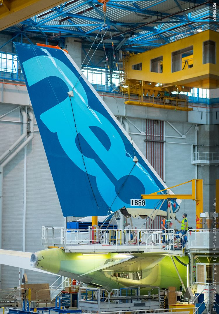 A330-800neo MSN1888 VTP Fitting