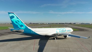 In the making: Airbus' first A330-800