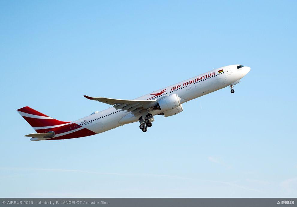Primer Airbus A330neo de Air Mauritius.