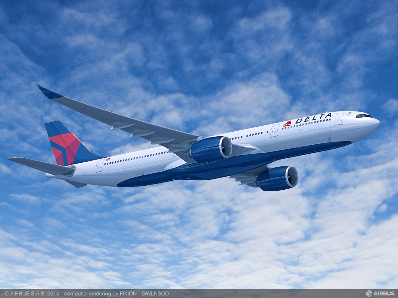 Delta Air Lines' order for 10 Airbus A330-900 widebody aircraft will strengthen this U.S.-based carrier's international growth strategy