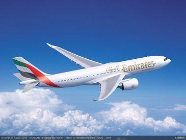 Airbus A330neo de Emirates.