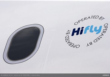 A330neo Hi Fly – Paint shop rollout