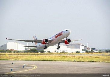 Lion Air's A330-900 – take-off