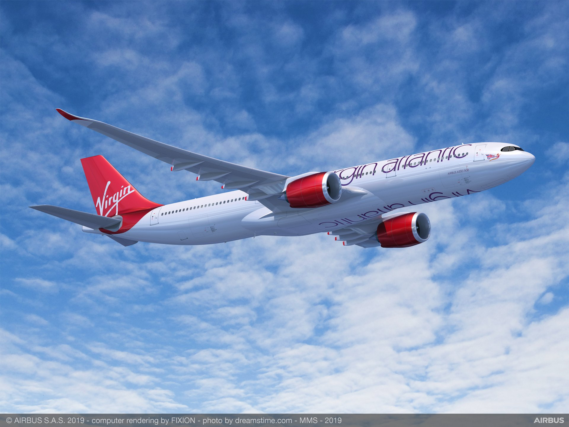 Virgin Atlantic signed a firm order for eight A330-900s (plus six more on lease from Air Lease Corporation) at the 2019 Paris Air Show