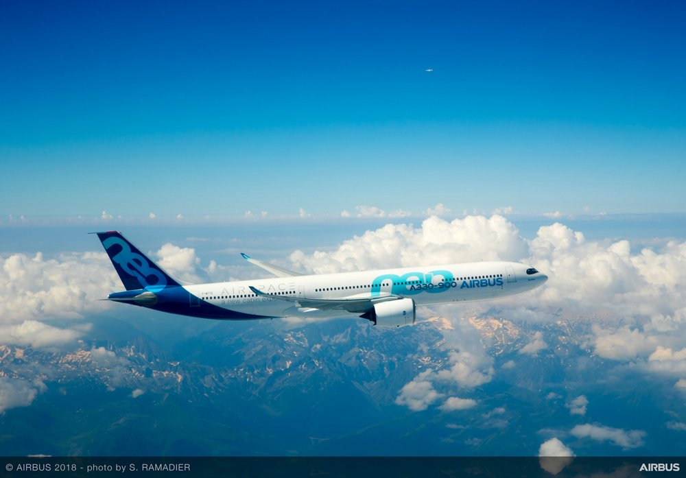 A330-900neo in flight 1