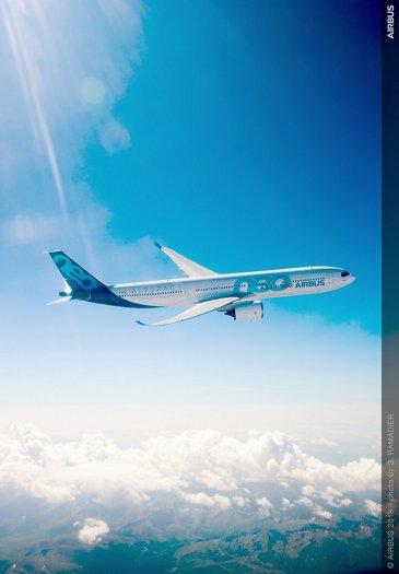 A330-900 in flight