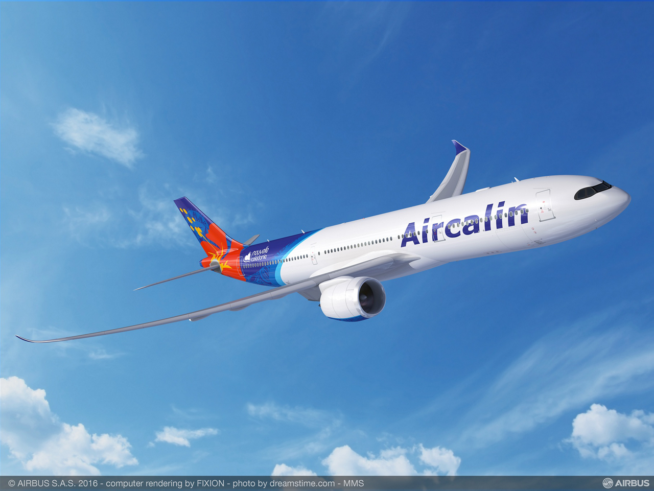 """Aircalin CEO Didier Tappero: """"Aircalin has made a strategic decision to renew its complete fleet with the A320neo and the A330neo to grow routes and connect New Caledonia to the region"""""""