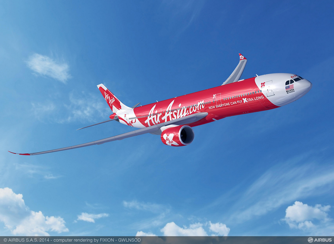 Asia's largest low-cost airline, AirAsia X, has placed a firm order for 55 Airbus A330neo (new engine option) jetliners – with deliveries of the newly-ordered aircraft scheduled to begin in 2018