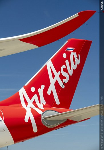 AirAsia X Thailand A330neo – Tail
