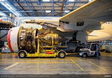 A330neo Engine Fitting