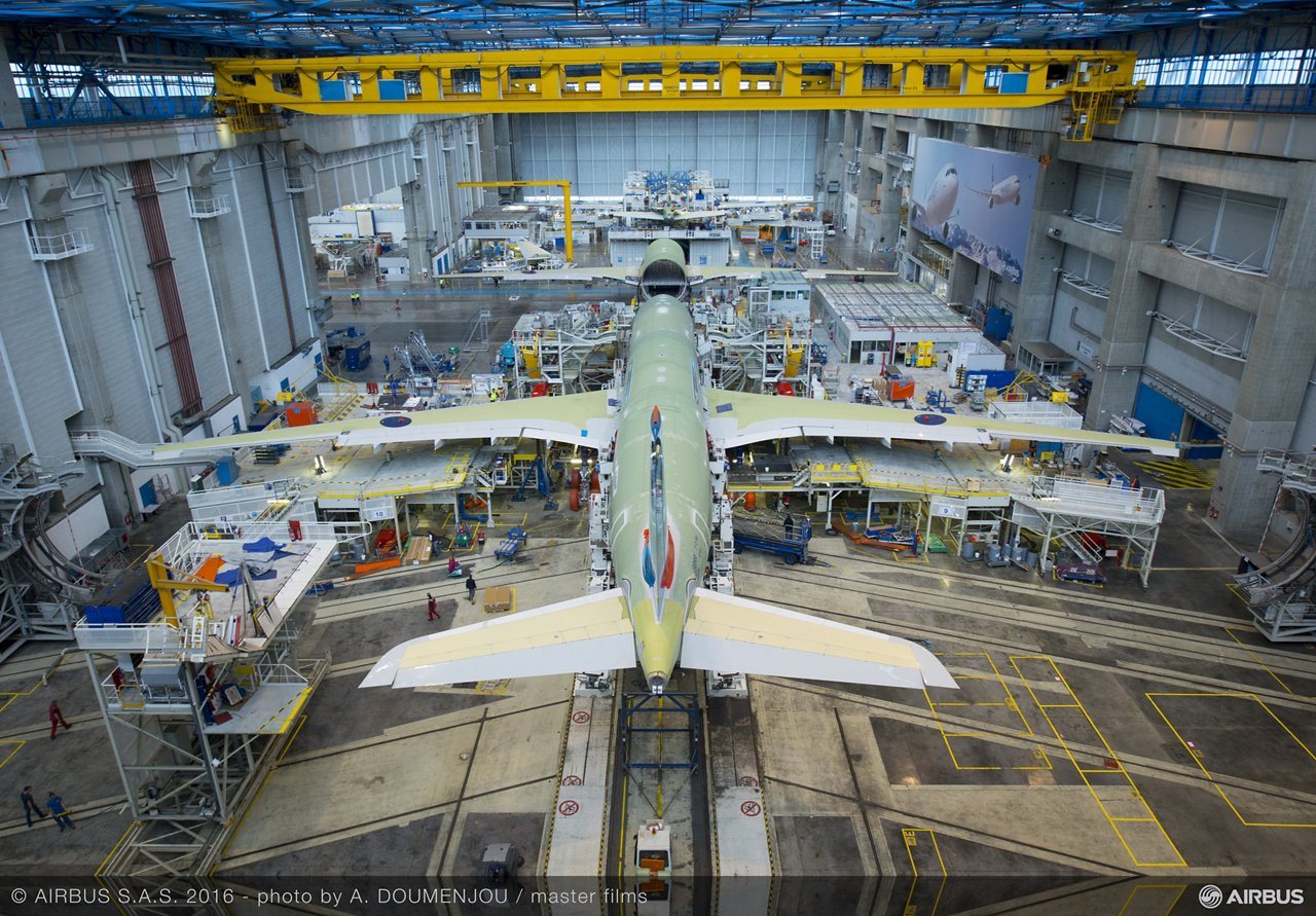 Focus on: how an aircraft is built