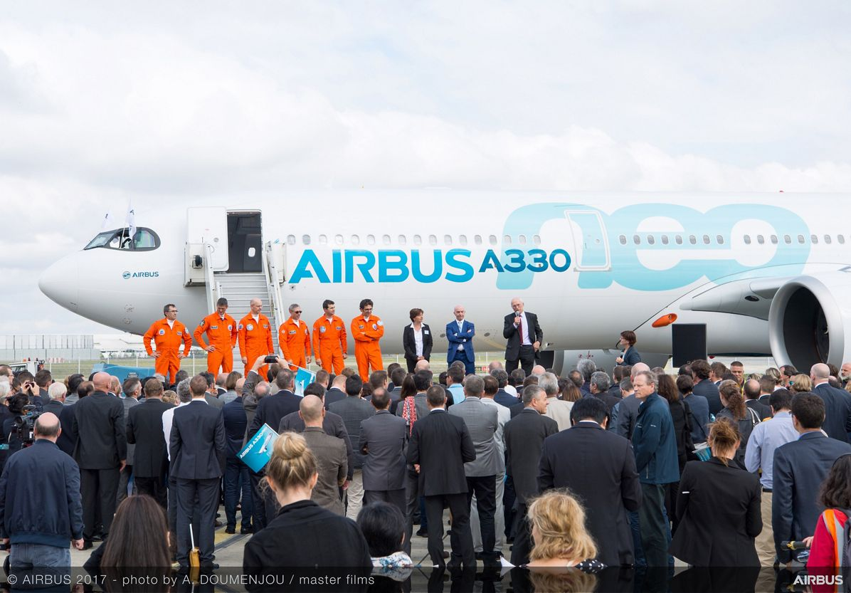 First A330neo successfully completes maiden flight