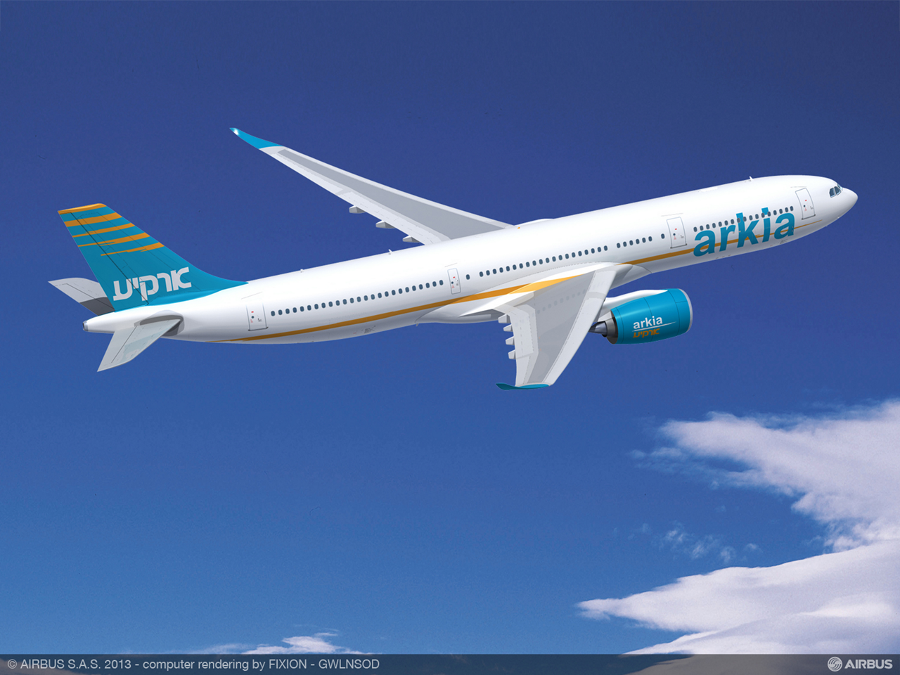 ARKIA Israeli Airlines signed a Memorandum of Understanding with Airbus for up to four A330-900neo aircraft – which will help this carrier expand its growing operations into long-haul business and leisure markets