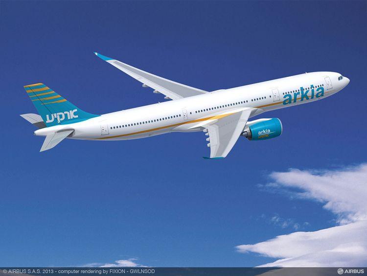 ARKIA Israeli Airlines A330-900neo 1