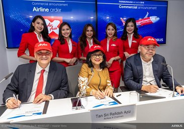 AirAsia X order for 34 additional A330neo – Farnborough 2018