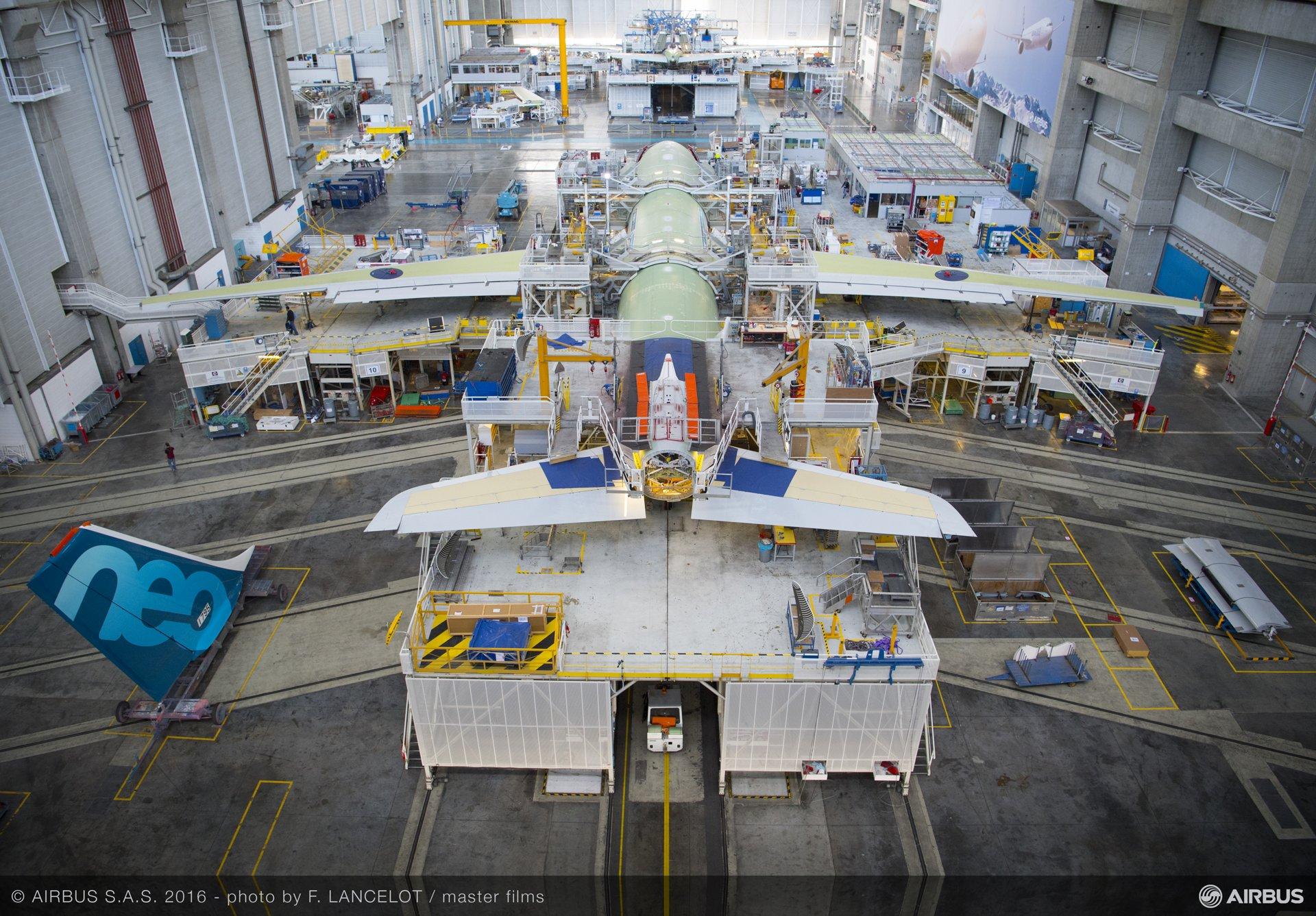 A330 Final Assembly Line