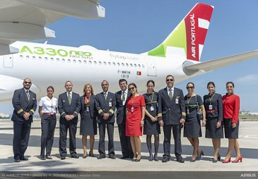 TAP Air Portugal A330-900 route proving tour 1