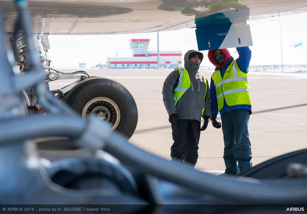 A330neo cold weather campaign 3