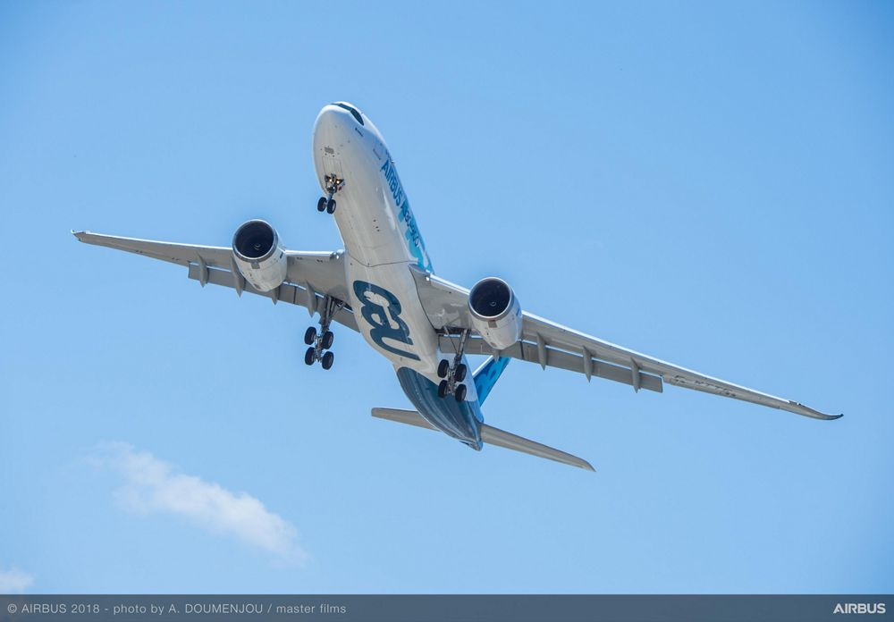 A330neo flight testing 1