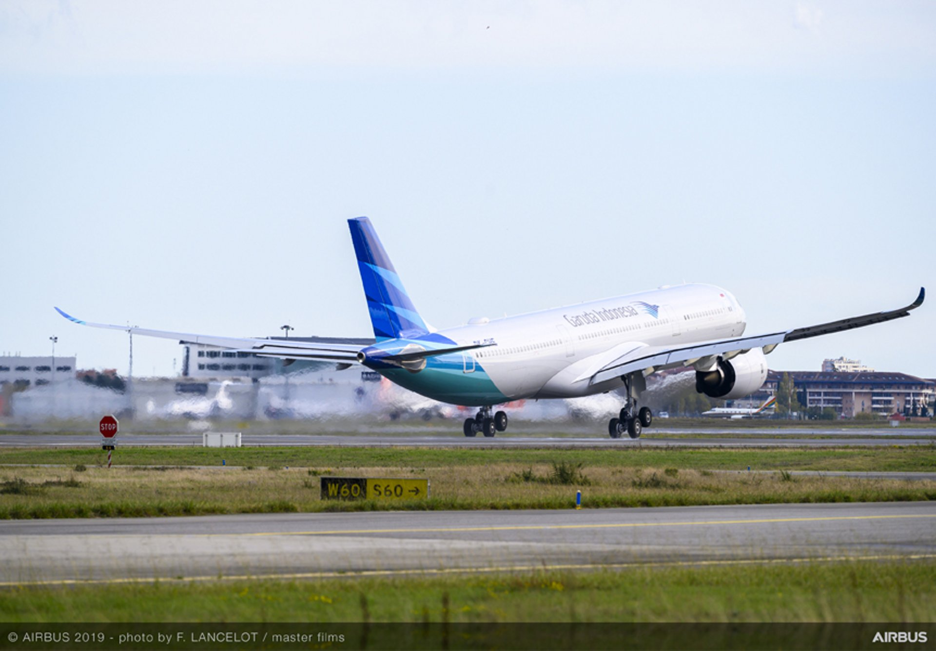 Delivery of Garuda Indonesia's first A330neo