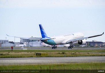 A330neo Garuda Indonesia Delivery