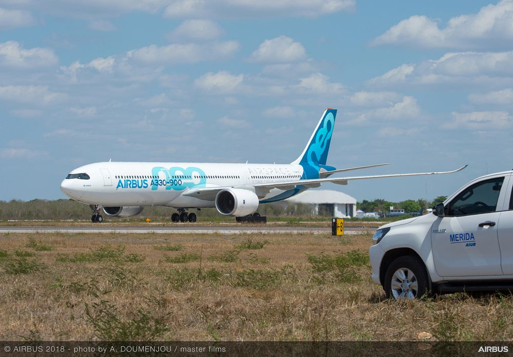 A330neo hot weather trials 1