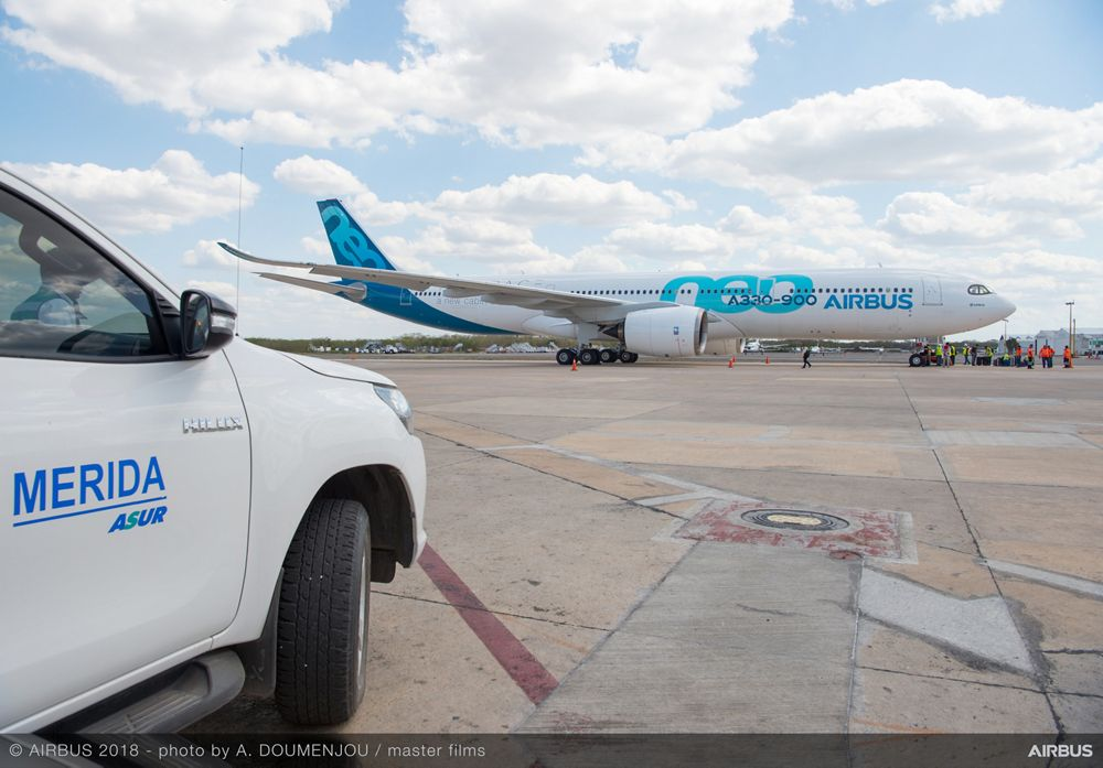 A330neo hot weather trials 2