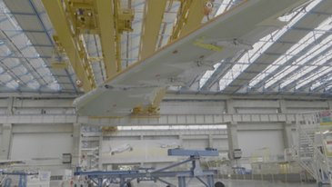 Aircalin's first A330neo: Final Assembly Line Poste 40
