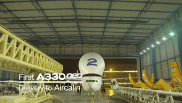 Aircalin's first A330neo: in the making